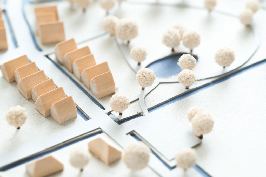 Baulücke bebauen - der Bebauungsplan sagt was erlaubt ist und was nicht.