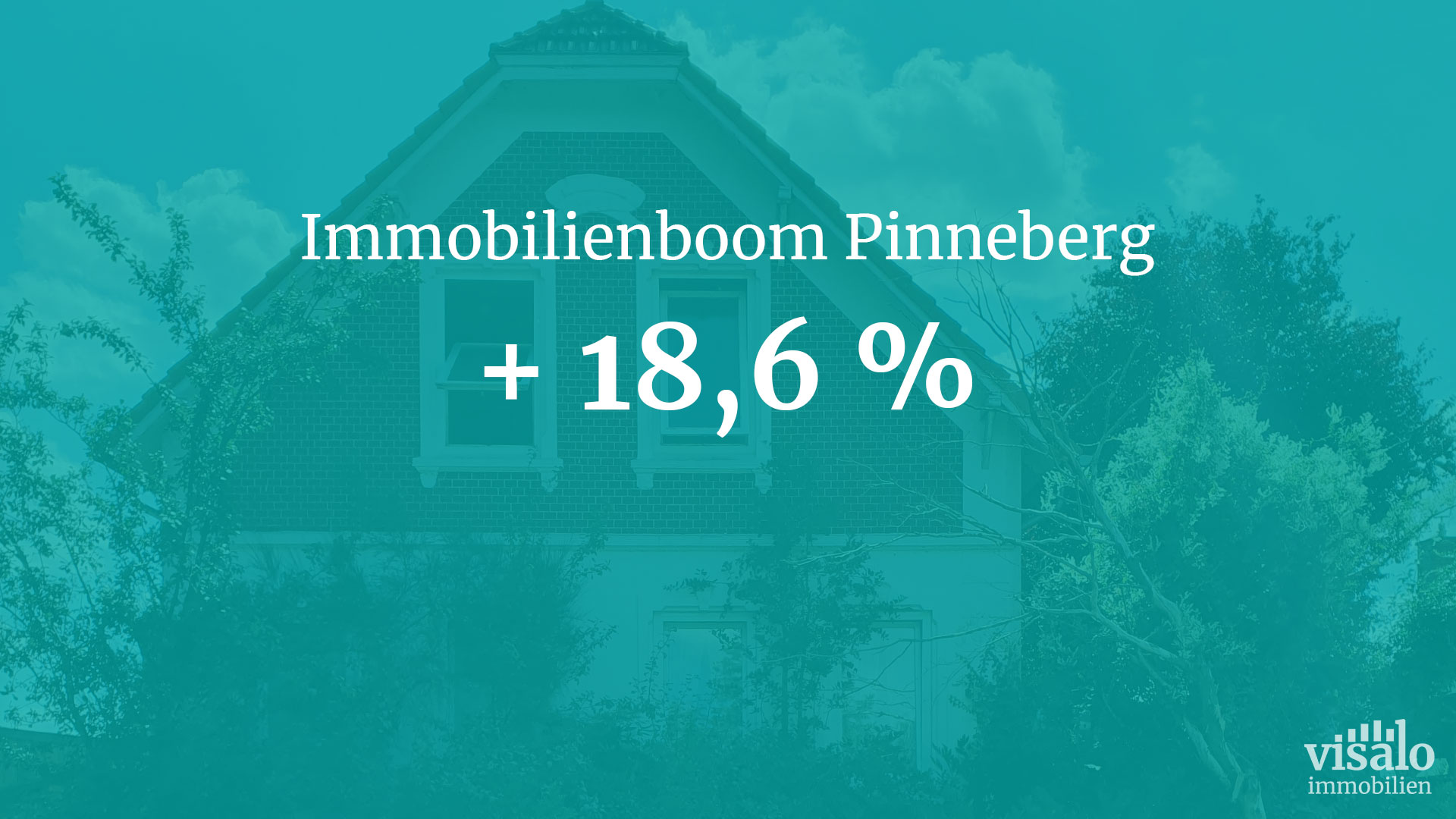 Immobilienboom Pinneberg: +18,6 % Wertzuwachs!