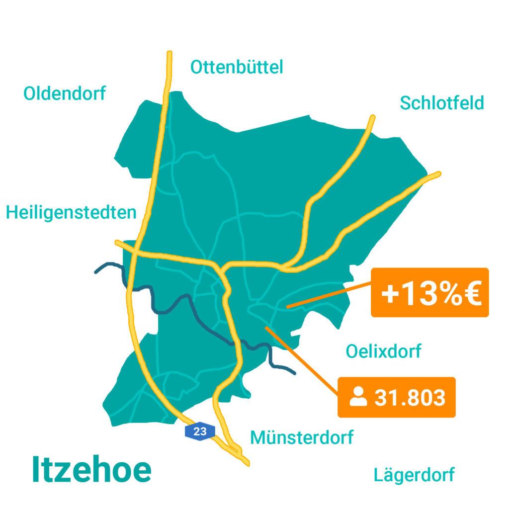 Itzehoe Karte